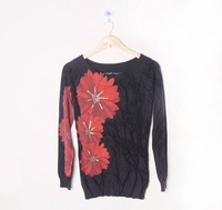 2013 spain brand fashion desigual pullover S M XL17J2103 free shipping