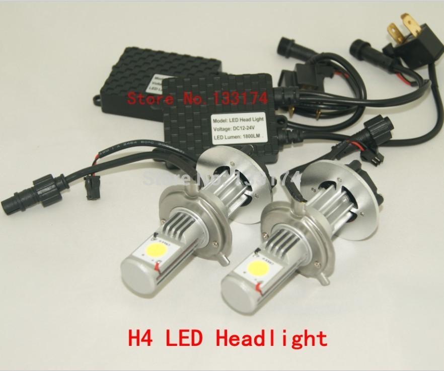 Factory Sell 50W Auto LED Headlamps/Auto LED Headlight/Auto Headlamps/Auto Headlight/LED Headlamps/LED Headlight H4 Hi/Lo Beam(China (Mainland))