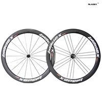 BladeX PRO ROAD CARBON WHEELSET 450G-Ceramic Bearings;Basalt Brake Surface;G3 Pattern;50mm Clincher wheels;Carbon Bicycle Wheel