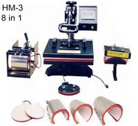Heat Transfer/Press Machine,HM Printer,Print Mug,Plate,Cap,Fabric,Non woven,Cotton,Nylon,Terylene,Metal,Ceramic,Wood,L300*W300mm