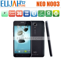 Rear 2G/32G NEO N003 003 MT6589T Quad core IPS OGS 1920X1080 screen Gyroscope 3G Cell Smart Phone Original Russian more Language
