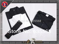 High Quality Cotton Iaido Kendo Aikido Gi Hakama Obi Underwear Martial Arts Uniform Sportswear Kimono Dobok Free Shipping