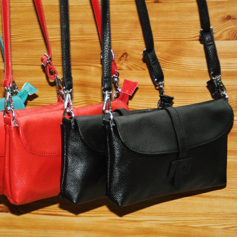 2014 factory sales the lowest whole network candy color women genuine leather handbag shoulder bag fashion women messenger bag(China (Mainland))