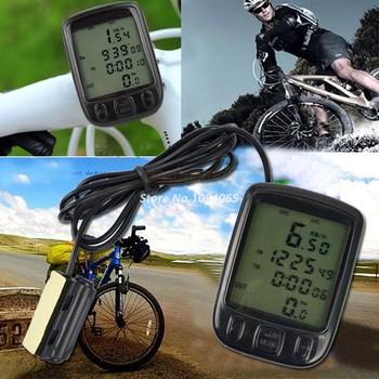 Лучшие продажи 24 функции жк-цифровой спидометр, велоспорт велосипед велосипед компьютер пробега Velometer 34
