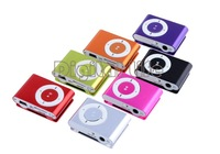 7Pcs/lot Wholesale Mini Clip Metal USB MP3 Music Player Media With Micro TF/SD card Slot Support 1 - 8GB Micro SD TF 20206