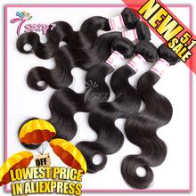Brazilian virgin hair body wave 3pcs no tangle unprocessed virgin brazilian hair human hair weave virgin brazilian body wave(China (Mainland))