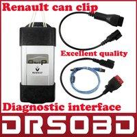 [5pcs/lot] 2014 newest V139 version support 14 languages Car diagnostic interface Renault Can Clip Professional Auto Scanner