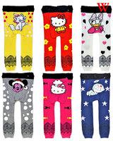 18 pcs/lot 2014 New Fashion Spring&Autumn Baby Cotton pp Pants Designer Boys&Girls Trousers,SZ3-36M Toddler Knitted Leggings