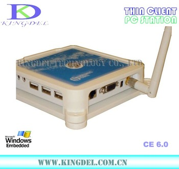 Free Shipping 2013 New Thin Client Computer, Ncomputing with ARM11 800Mhz, 32 Bit, Microphone, WIFI,  Win CE 6.0 supported
