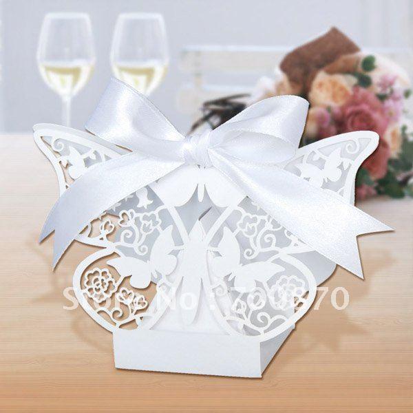 Wedding Favor Boxes Trinidad : New arrival fb pcs set quot laser cut