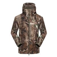 Outdoor Hunting Camping Waterproof Coats Jacket Hoodie For Men Black Green Khaki ACU CP S M L XL XXL