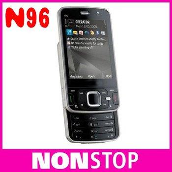 n96 Original Nokia N96 Mobile Phones 3G WIFI GPS Unlock Cell Phones 16GB internal Memory One Year Warranty In Stock