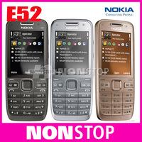 E52 Original Nokia E52 WIFI GPS JAVA 3G Unlocked Mobile Phone Free Shipping