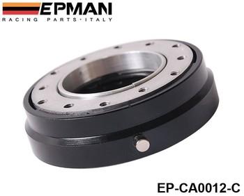 EPMAN Hot Selliing Black Thin Version  Steering Wheel Quick Release Default color is Black EP-CA0012-C-Black