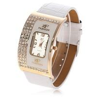 4 Color women luxury rhinestone quartz watch women dress wrist watches lady bracelet leather watch hour clock relogio feminino