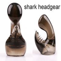 AV11   shark headgear massager can use on AV vibrator clit stimulation body massager adult sex toys for women sex products