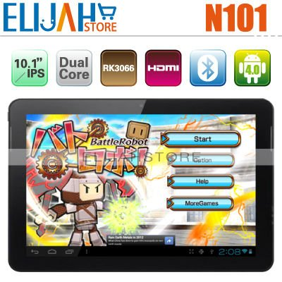 "Hot Yuandao N101 Dual Core RK3066 tablet pc 10.1"" IPS Capacitive 1280*800 1GB/32GB Dual Camera Bluetooth HDMI Window(China (Mainland))"