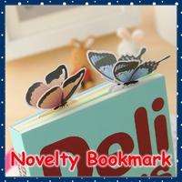 [FORREST SHOP] Kawaii Stationery Store Novelty 3D Butterfly Bookmark / Paper Bookmarks For Books / Vintage Book Marker FRS-70