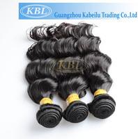 """KBL Peruvian loose wave 3pcs lot wholesale 12""""-26"""" Per lot  virgin human hair weaves cheap unprocessed virgin peruvian hair"""