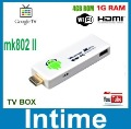 New Arrival !!! Rikomagic MK802 II  Dual-Core Cortex-A7 A20  RAM 1GB ROM 8GB  PC Mini PC TV Box come with adapter