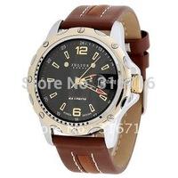Original Brand JULIUS Fashion Luxury Men quartz watch,Round Sports Calendar Waterproof Leather Watches Good Quality JAH-007