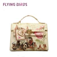FLYING BIRDS! OL Lady Women pu leather Handbag Tote messenger Bags Lady  PU Shoulder bag LS0412