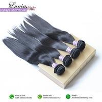 Grade 6A Peruvian Virgin Hair Straight 3Pcs/Lots Rosa Hair Products 100% Unprocessed Human Hair Extensions Free Shipping