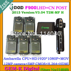 "F900 Car Camera, original DOD F900LHD Car DVR Video Recorder Full HD 1080P+H.264+Ambarella+12MP+5.0MP CMOS+2.7"" LCD(China (Mainland))"