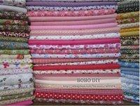 FREE SHIPPING 50pieces 20cm*25cm fabric stash cotton fabric charm packs patchwork fabric quilting tilda no repeat design W3B4-1
