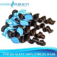 Best quality 6A raw unprocessed Brazilian loose wave virgin hair, human hair weave wavy bundles, queen hair free shipping
