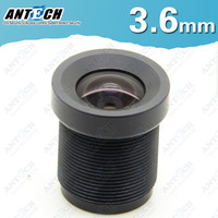 Free shipping 3.6 CCTV MTV Monofocal Fixed IR Iris Board Lens Mount 96 Degree F2.0 Security Camera wide angle lens