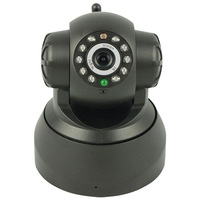 2013 Plug and Play Wireless IP Camera F1054A 10m Night vision Two-Way Audio Pan /Tilt Motion Detection