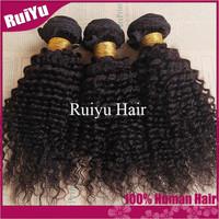"Rosa hair products brazilian kinky curly virgin hair 4pcs lot,cheap brazilian hair bundles 8""-30"" human hair weaves very soft"