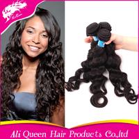 5A unprocessed virgin hair ali Queen hair products,Peruvian virgin hair 3pcs lot peruvian wave hair