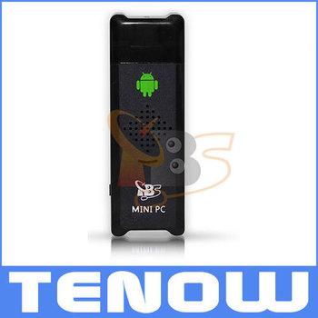 MK802 Android 4.0 Mini PC TBS8210 Brand New,IPTV Google TV Smart Box DDR3 1GB RAM 4GB Storage Allwinner A10S,Freeshipping