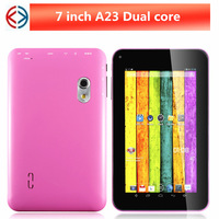 NEW 7 inch Allwinner a23 Android 4.2Dual core 512M 4G Tablet pc Capacitive Screen Dual Cameran  Wifi OTG