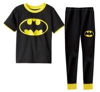 Children's Short Sleeves Lycra Pajamas Boy's Summer Cartoon Sleepwear Nightwear, 6 Sizes/lot for 1-6 yrs - GPA267/GPA274/GPA287