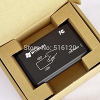Free shipping(1Pc) 125khz Rfid Reader Writer Duplicater Copier with CD software+5 Pcs T5577/EM4305 125Khz Rfid Writable Keyfobs