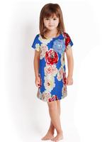 girls fashion girls floral dress kids dresses children clothing 2T-7T  free shipping 02342