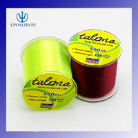 Free Shipping 500m Extreme Strong Monofilament  Nylon Fishing Line  4 5.5 8.6 10.6 11.5 13 19 29.8 40 LBS
