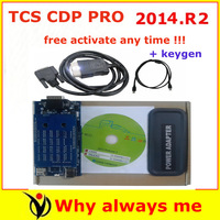 2014 Good ! 2013 03 +keygen TCS SCANNER CDP PRO PLUS free update NOT NEED ACTIVE for trucks and cars scanner with multi-function