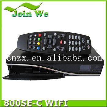 3pcs/lot  dm800HD SE Cable tuner DVB-C tuner +300Mbps Wifi build in dm800 hd se Cable DVB-C tuner
