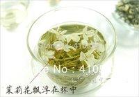 Promotion! 2014 year 100% natural Organic Jasmine Flower Tea 100g health care mo li hua  Green Tea +Secret Gift+Free shipping