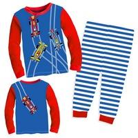 Children's Long Sleeves Pajamas Boy's Christmas Design Nightwear Sets, 6 Sizes(2T-7T)/lot - GPA605/GPA923/GPA925/GPA926/GPA932
