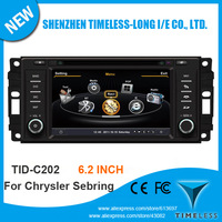 Car DVD GPS Player for Jeep Wrangler Commander Compass Grand Cherokee Dodge Journey Chrysler Sebring with 1G CPU 3G Host S100