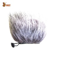 Microphone Fur Windscreen For Zoom H4n Handheld Recorder Handy Mobile Muff H4 DR-100 D-50 Wholesale Hot Sales Free Shipping