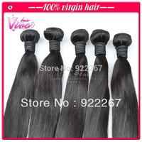 High quality natural color brazilian hair weave 3pcs lot, unprocessed virgin hair, can dye & bleach, 100% human hair extension