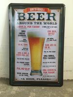Beer painting item Tin Sign Bar pub home Wall Decor Retro Metal Art Poster AL001