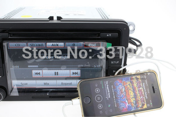 Volkswagen RCD510 Support Rear Camera OPS Bluetooth 6 CD Touch Screen Brand New w/USB Extension Cable