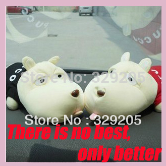 2013 Fashion Cartoon Odor Bamboo Charcoal Bag Cute Decoration Long Mouth Dog Adsorb Odor Adjust Humidity Car Air Fresher Cleaner(China (Mainland))